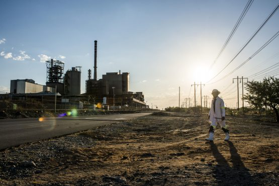 Bapo Ba Mogale want more mine ownership of mining assets, jobs and training. Picture: Bloomberg