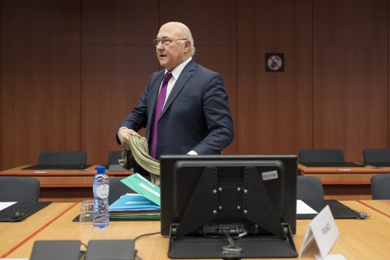 Michel Sapin, Finance Minister of France