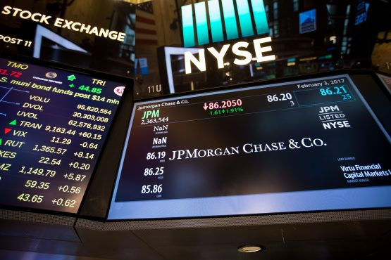 JPMorgan and Citigroup shares are unchanged, even as the companies' earnings beat market estimates. Picture: Bloomberg
