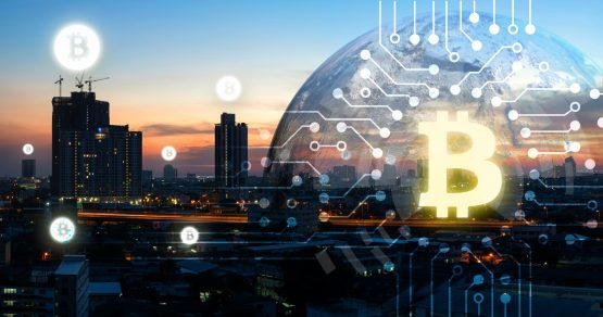 The bitcoin community is debating the cryptocurrency's future, including if its underlying technology, blockchain, should be split. Picture: Shutterstock