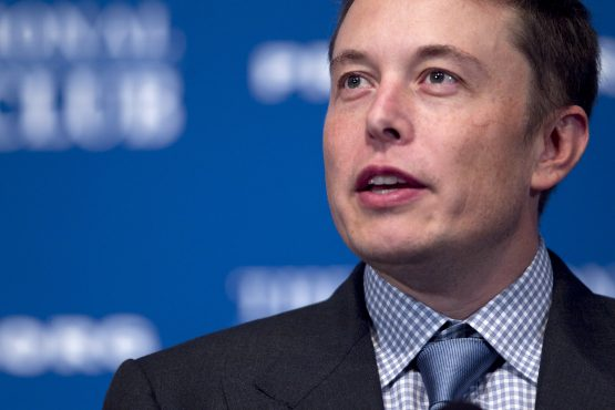 Elon Musk, chief executive officer of Space Exploration Technologies Corp. and Tesla Motors Inc.