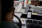 Meter-taxi operators attacking Uber drivers