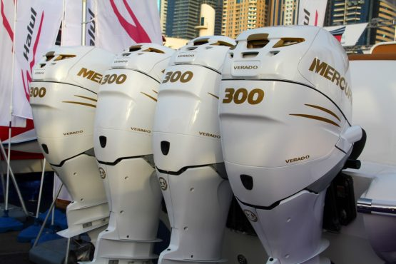 Outboard motors are among the products imported by Hudaco. Image: Supplied