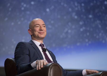 Jeff Bezos boosts fortune by $12bn in one day