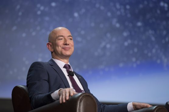While the Jeff Bezos of the world are aspirational, amassing that type of money is far out of reach for pretty much everybody. Image: Matthew Staver/Bloomberg
