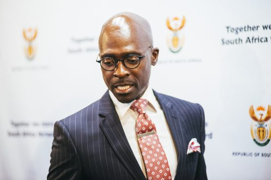 Finance Minister Malusi Gigaba says poor performance of major sectors of the economy will likely restrain tax revenues. Picture: Bloomberg