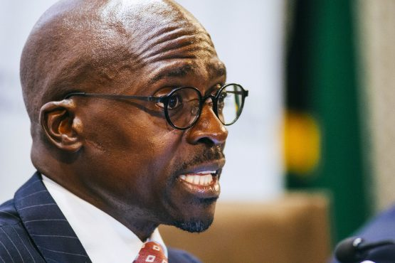 Malusi Gigaba resigns as home affairs minister. Picture: Waldo Swiegers, Bloomberg
