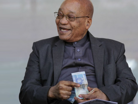 The rand extended its decline to as much as 1.6%, to 12.54 to the dollar on Wednesday after ANC Secretary-General Ace Magashule told reporters that Zuma's (pictured) removal wasn't on the party meeting's agenda. Picture: Moneyweb
