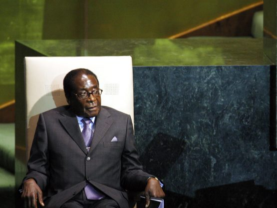 Zimbabwe's former President Robert Mugabe passed away earlier in September after doctors stopped chemotherapy because it was, reportedly, no longer effective. Image: Andrew Harrer, Bloomberg