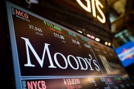 "Moody's has retained a ""negative"" outlook on SA, citing concerns about economic growth, government debt and the current political climate. Picture: Michael Nagle/Bloomberg"