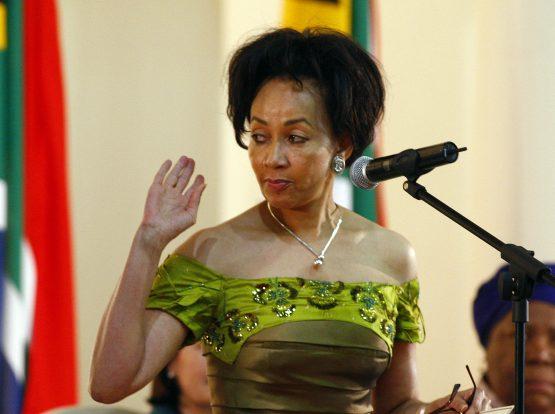 Human settlements minister Lindiwe Sisulu. Photo source: Reuters