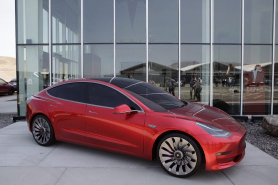 Tesla Model 3. Picture: Bloomberg