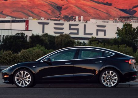 Delivery day is here for Tesla's Model 3