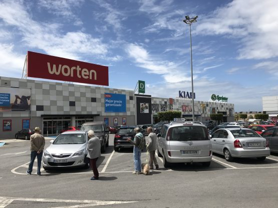 Vukile Property Fund's retail park in Spain. The company has identified the Western Europe region for rand-hedge income steam. Picture: Supplied