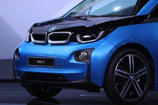 Based on Eskom data, the little BMW i3 indirectly generates more than 13.5kg of carbon dioxide emissions for every 100km it travels. Image: Jasper Juinen/Bloomberg