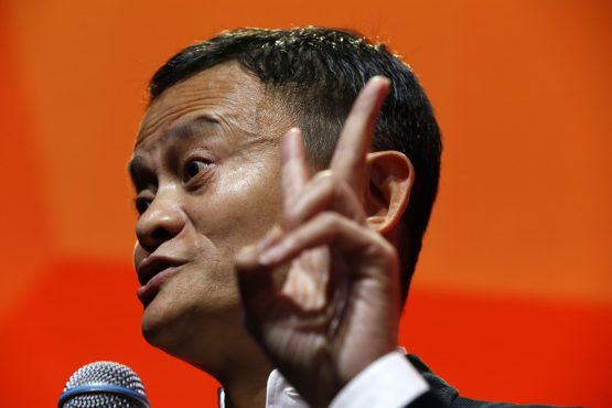 Jack Ma has become the face of the first international generation of Chinese entrepreneurs. Picture: Jeff Kowalsky, Bloomberg