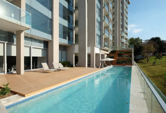 At Metropolis on Park, 108 of the 128 apartments have been sold, with a one-bedroom, two and three-bedroom apartments ranging from R1.9 million to more than R5 million. Picture: Supplied