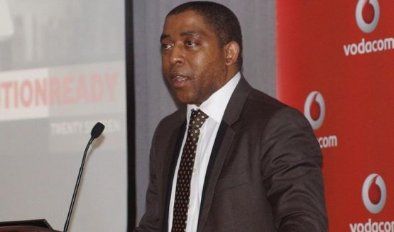 Vuyani Jarana, currently chief officer for Vodacom Business, will take over as CEO of embattled state entity SAA. Picture: Vodacom