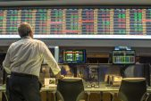 Stocks fall, yields and dollar rise after Fed minutes
