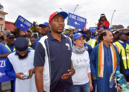 Infighting plagues SA opposition as election looms