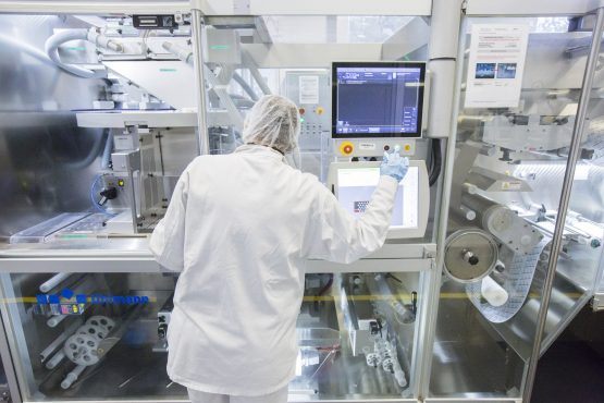 Merck is up 3.2% on positive drug data. Picture: Martin Leissl/Bloomberg