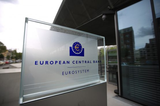 The European Central Bank will announce its latest monetary policy decision today. Picture: Bloomberg