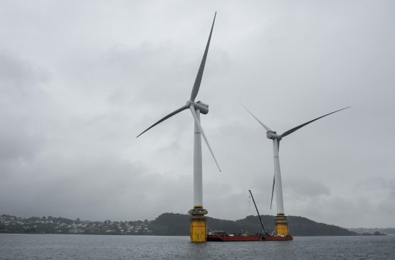 World's First Floating Wind Farm Starts Production