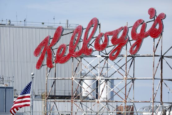 Kellogg's plant-based unit could be worth $3bn, which could increase its enterprise value to $33bn, or $75 a share, one analyst says. Picture: Luke Sharrett, Bloomberg