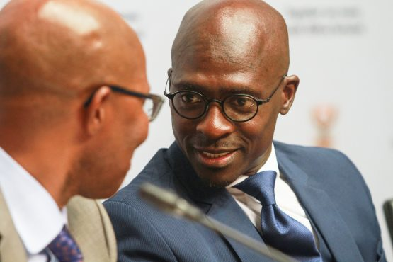 Judge Potterill has called minister Gigaba's argument for rescinding the approval for the ad hoc international customs and immigration service as 'meritless'. Picture: Dean Hutton/Bloomberg