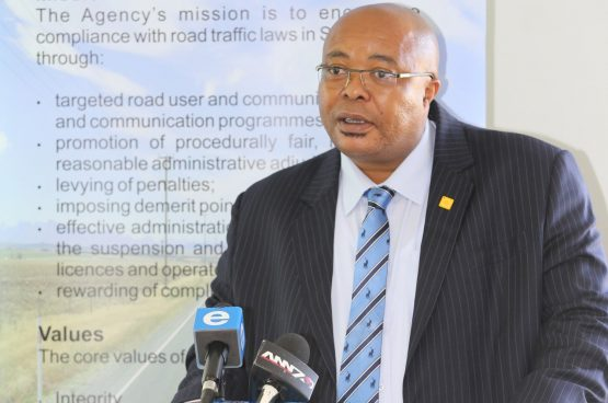 RTIA registrar Japh Chuwe blamed the drop in revenue on the reduction in the number of fines issued. Picture: Moneyweb