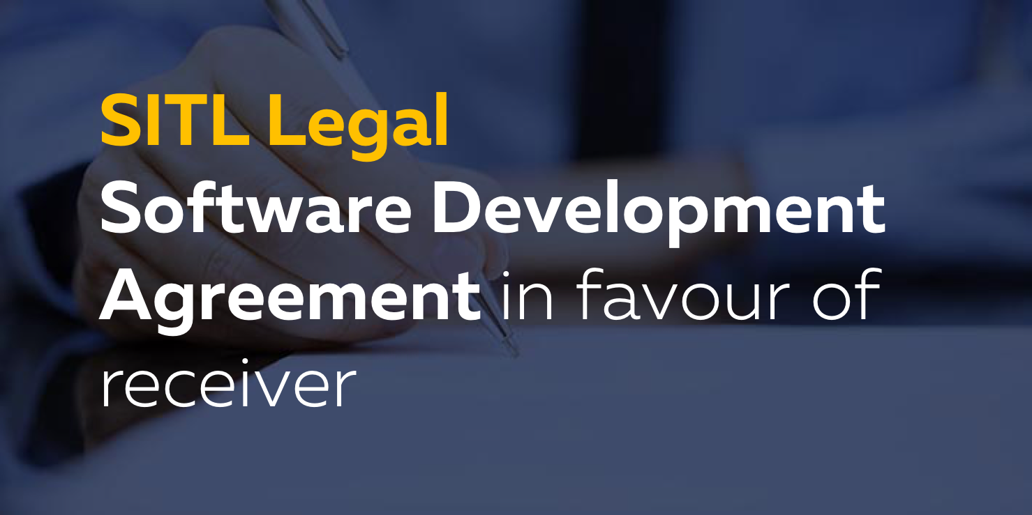 Software Development Services Agreement In Favour Of The