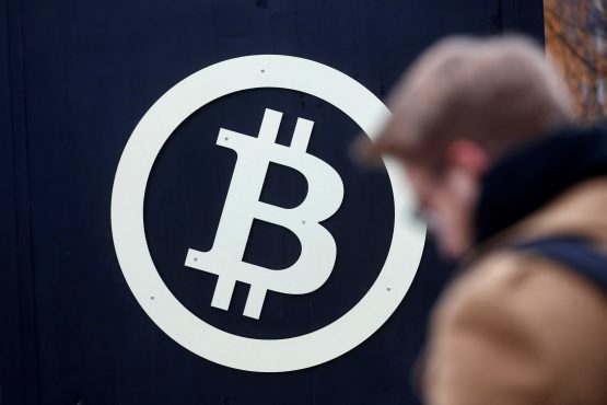 The latest price surge brought bitcoin's 'market cap' - its price multiplied by the number of coins that have been released into the system - to more than $163 billion. Picture: Reuters/Ints Kalnins