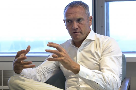 Bob Van Dijk, CEO of Naspers, during an interview at the Media 24 office in Cape Town. Picture: Halden Krog/Bloomberg