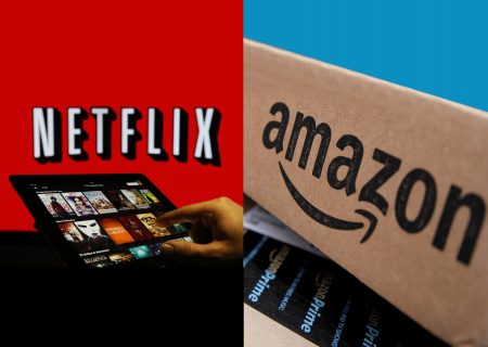 How can I buy Netflix and Amazon shares in South Africa?