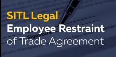 Employee Restraint of Trade Agreement