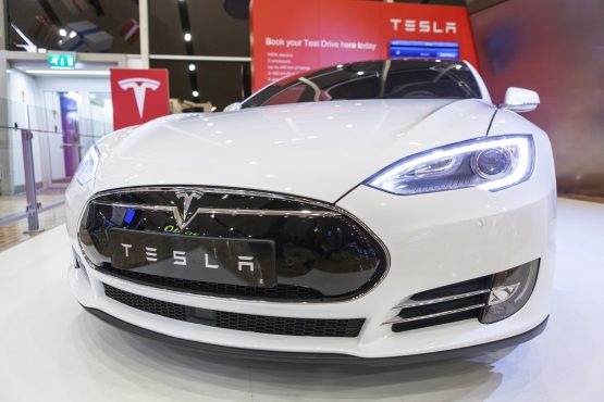The Tesla Model S in Ludicrous mode is the fastest mass-production electric vehicle which can be bought. Picture: Shutterstock