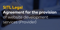Agreement for the provision of website development services (Provider)