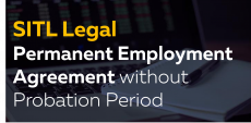 Permanent Employee Agreement with no Probation Period