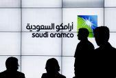 Saudi Aramco shares briefly hit $2trn before easing