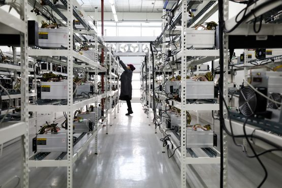 Morgan Stanleyanalysts saypower consumptionincurrency mining could account for 0.6% of total global electricity demand this year. Picture: SeongJoon Cho/Bloomberg