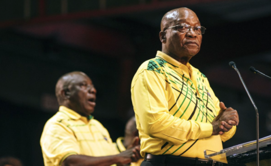 President Jacob Zuma's fate will be told on Tuesday. Picture: Bloomberg