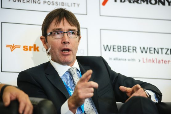 Chamber of Mines CEO Roger Baxter says the relationship between the regulator and the industry has broken down due to reckless actions on behalf of the DMR. Picture: Waldo Swiegers/Bloomberg