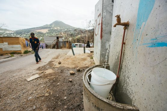 Cape Town's water consumption has been lowered to 526 million litres per day. Picture: Bloomberg