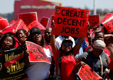 Cosatu: 'We're not going to entertain an across-the-board wage freeze'