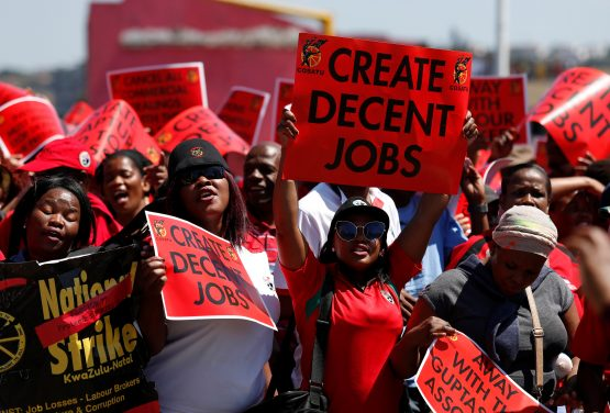 Image result for cosatu protests