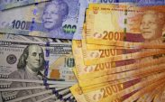 Rand gains on dollar weakness, miners lead the way