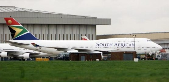 The rand against struggling SAA. Picture: Reuters