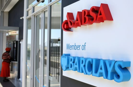 Absa is facing a mix of weak economic growth, declining customer numbers and sharp increases in costs. Picture: Siphiwe Sibeko/Reuters