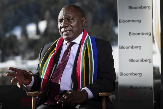 President Ramaphosa has appointed Trudi Makhay,  Lungisa Fuzile, Mcebisi Jonas and Jacko Maree to scout out foreign investment for SA. Picture: Simon Dawson/Bloomberg