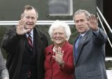 Former US First Lady Barbara Bush dies at age 92 – family